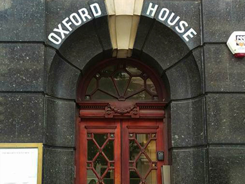Communal cleaning at Oxford House Southampton