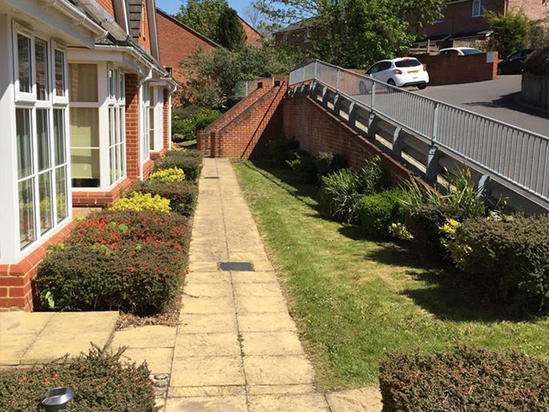 Landscape maintenance at Briars Croft, Andover